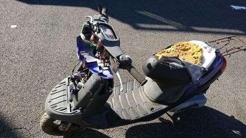 買取、回収不可のバイク