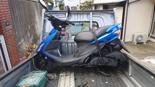 アドレスV125S買取、故障バイク